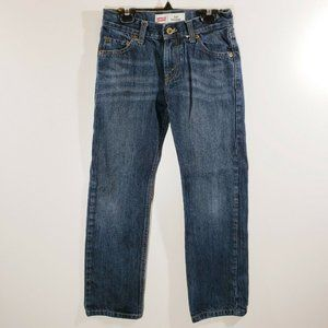 Levis 514 Straight Boys Jeans Size 10 JN11